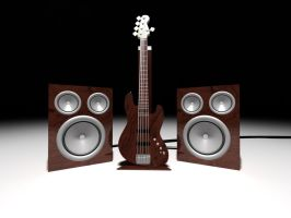 Bass and Speakers by mirc-mirc