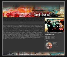 BED SORES website by slawaboy