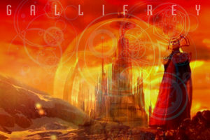 Gallifrey by virunee