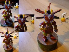 Skull kid Figurine by Jelle-C