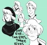 One Eye, Two Eyes, Three Eyes by Nefarious-Mr-Larry