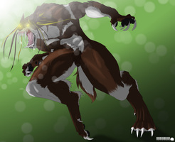 art trade:let out the beast by petplayer976