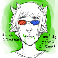 Ask Sopor!Sollux by Kurospoons