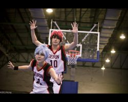 kuroko no basket by Bakasteam