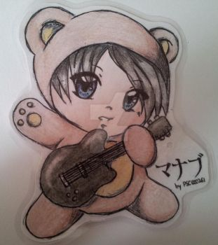 Manabu the teddybear by Mika-loves-Kai