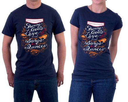 With Songs and Dances (on shirt models) by flyingblind