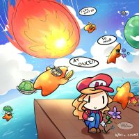 What actually happens in Super Mario Galaxy 2 by KittyCouch