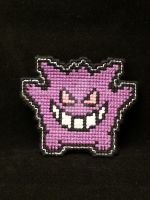 Pokemon - Gengar by NerdyCatCrafts