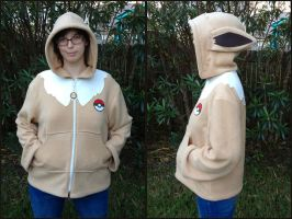 Eevee Cosplay Jacket Hoodie Pokemon Eeveelution by Monostache
