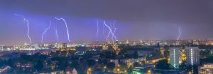 Lightning horizon by Schweinskopfsuelze