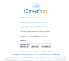 CLEVERBOT CAN SING POKEMON. by vera-san