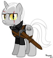 Geralt of Equestria by KiOWA213