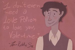 Don't even need a love potion by Arileli