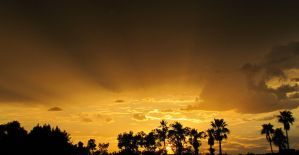 Monsoon Sunset 5273 by SelketSky