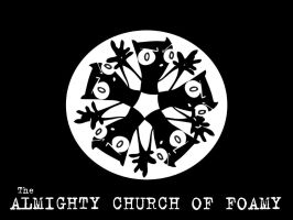 The Almight Church of Foamy by keyvisuals