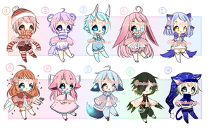 ADOPTS: Discounted Mini Chubs [CLOSED] by Mewpyonadopts