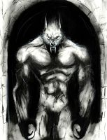 Pariah... silverfang abomination by Frankjacobo