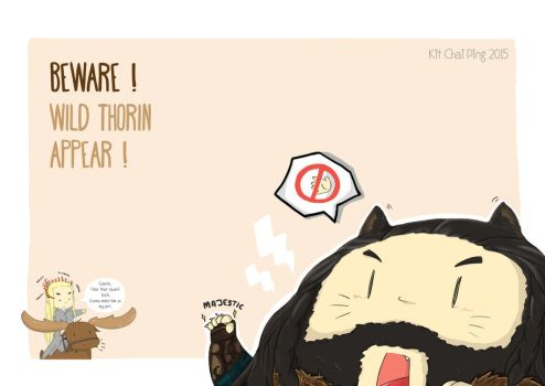 Thorin the Moody Cat by BLACK4REST