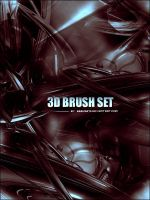 3D-3d Set 1 by psbrushes