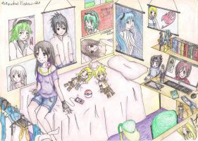 Otaku Home ^^ by AnImAtEd-MeDoW