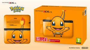 Nintendo 3DS XL Pokemon Series - Charmander Ed. by Paxxy