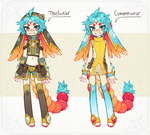 ::Personal:: Sunsello clothes ref by Jotaku