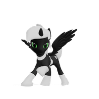.:MMD:. The Ghost Pony by SaziSkylion