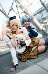 Puella Magi Madoka Magica : Yellow and Blue by princess-soffel