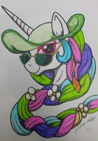 Celestia in Summer - Finished by Lorfis-Aniu