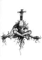 Crucifixion by inphested