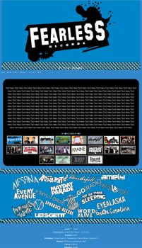 Fearless Records Journal Skin by winter-ame