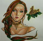 Illusen the Earth Faerie by Shey49