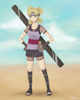 Temari of the sand by icha-icha