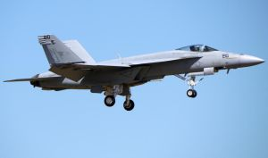 Boeing F-18E Landing by shelbs2