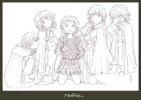 The Fifth Hobbit... by tomuyu