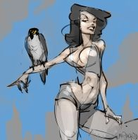 City Bird by Mr--Jack