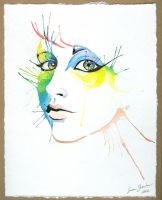 Untitled Watercolor by bookstoresue