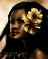 Hibiscus by Marlene-Cooper