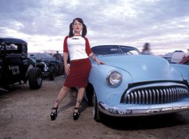 Hot Rod Girl by ChloeValance