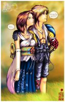 Tidus and Yuna Revisited by BloodyMoogle
