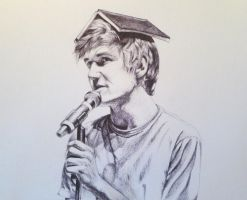 Bo Burnham (pen) by EnigmaticDoodle