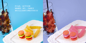ACTION Candy by brilliantinestudio by Brilliantinestudio