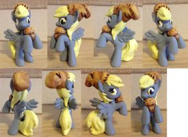 MLPFIM Blind Bag Derpy Hooves Custom by omgwtflols