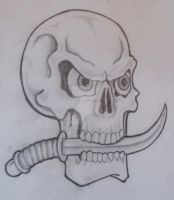 Skull Design by creator-of-all