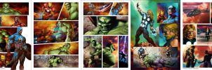 Marvel Heroes - Pages by Valzonline