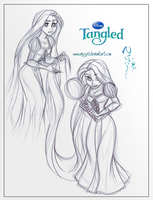 Rapunzel Sketches by Nippy13