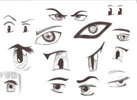 Eyes Doodling by jacko56