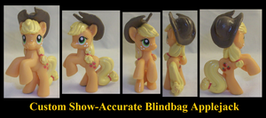 Show-Accurate Applejack by Gryphyn-Bloodheart