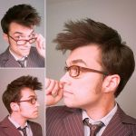 Finally nailed the hair on my Tenth Doctor Cosplay by thatOneReallyTallGuy