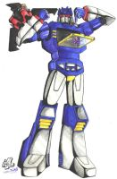 Soundwave by Mawnbak
